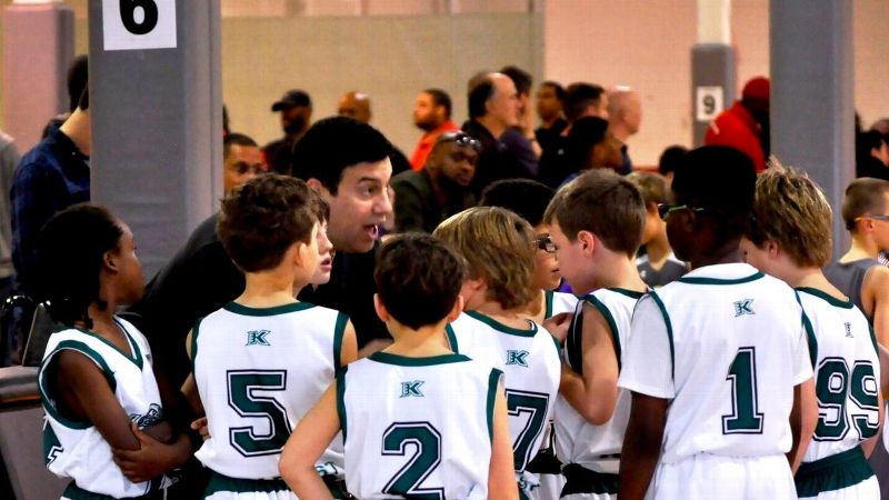 Dan Shanoff discovered a new meaning of mercy while watching his son's coach and team during a character-building weekend of elite 4th-grade basketball.