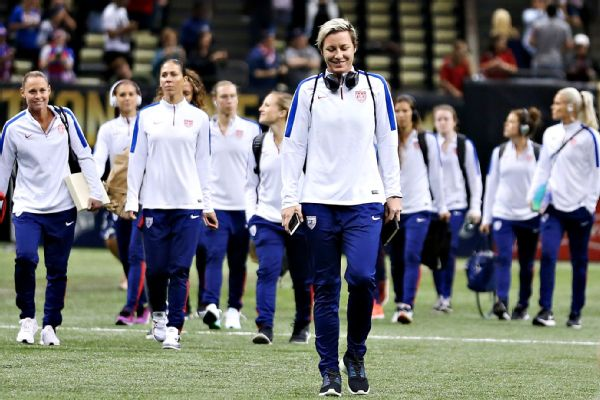 Abby Wambach with Team