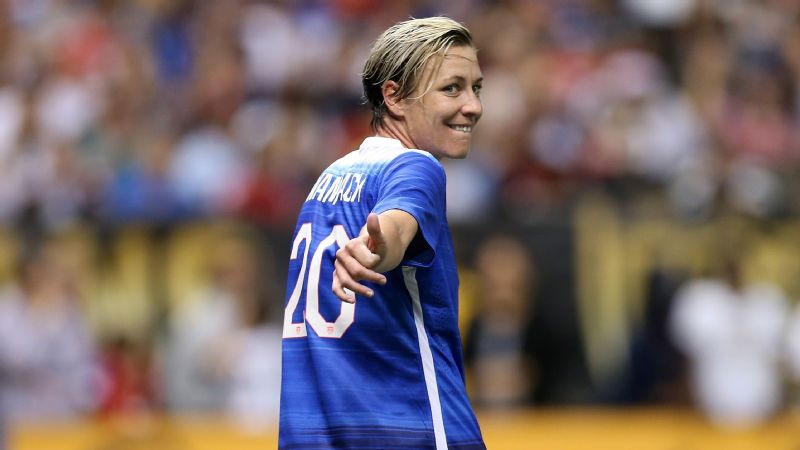 Abby Wambach Thumbs Up