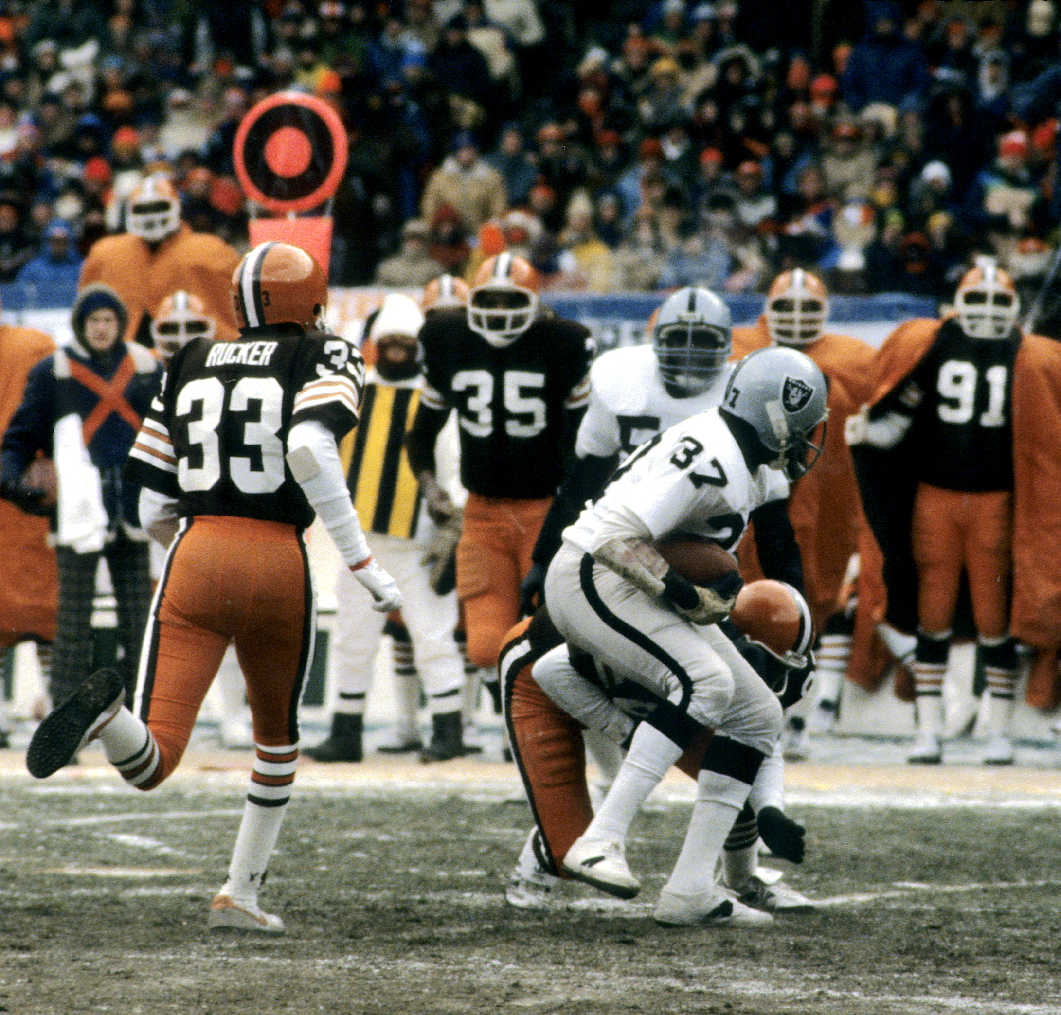 1980 Raiders and Browns