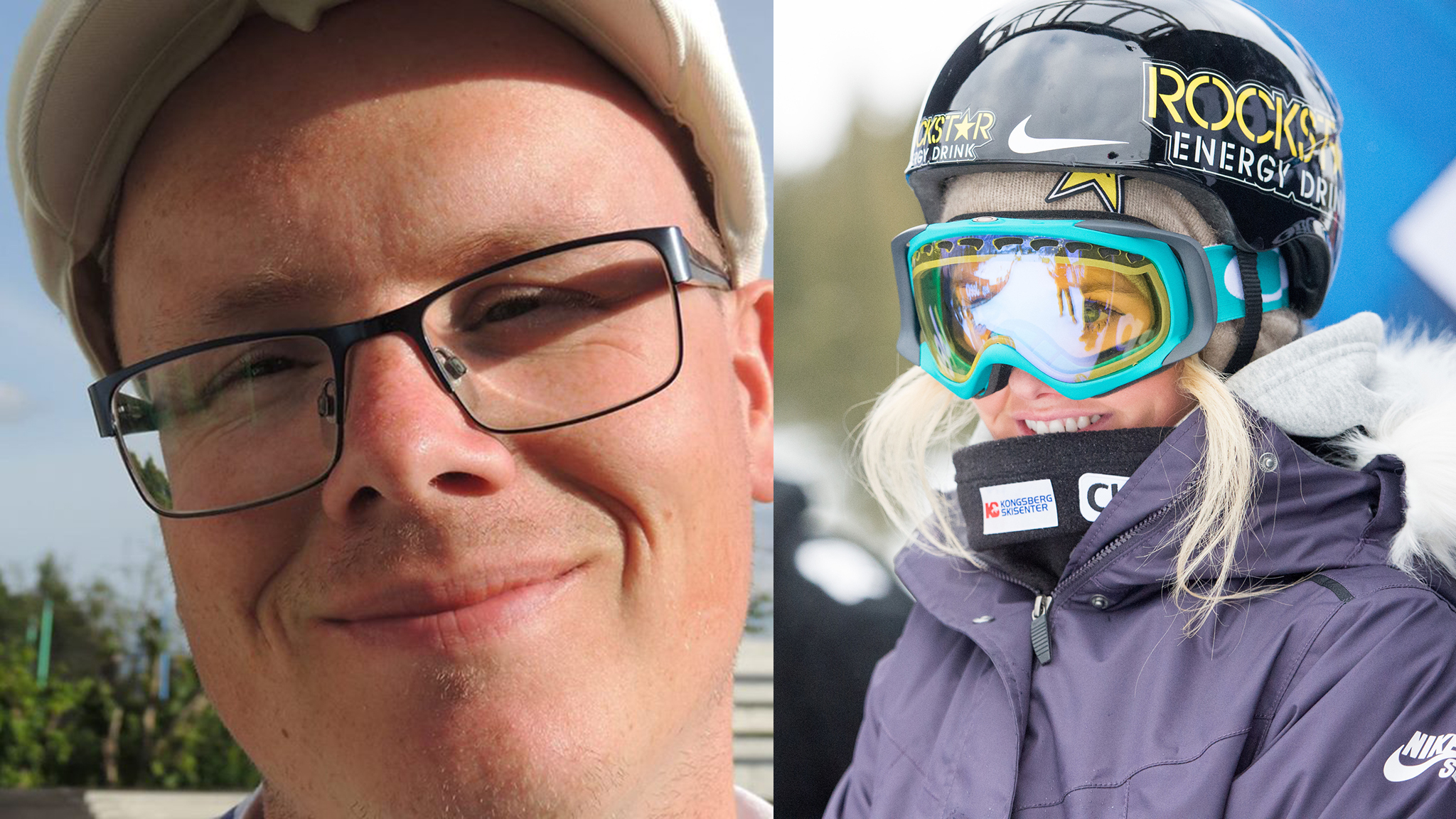 Silje Norendal and Andre Berg