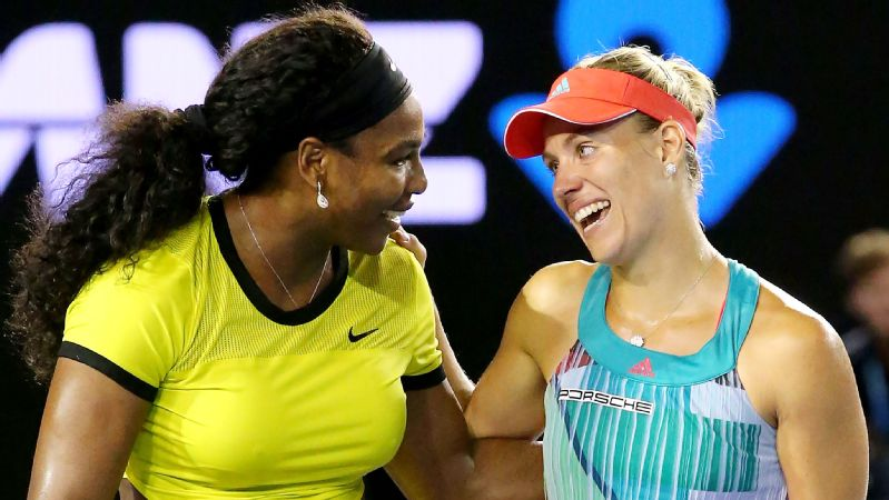 Angelique Kerber, Serena Williams