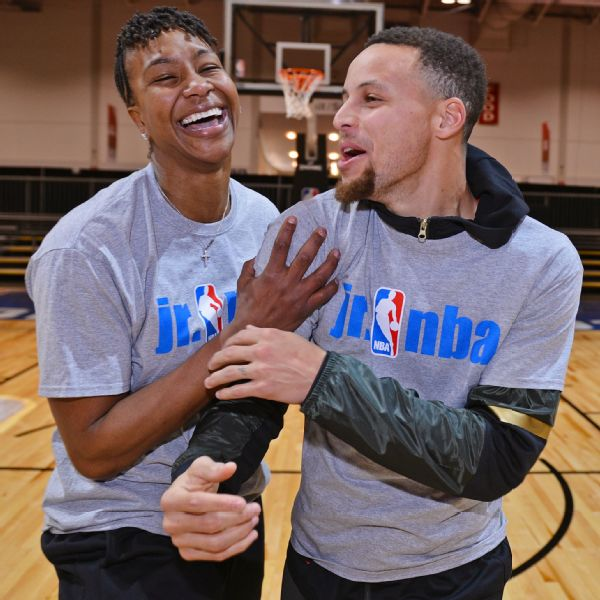 Tamika Catchings, Stephen Curry