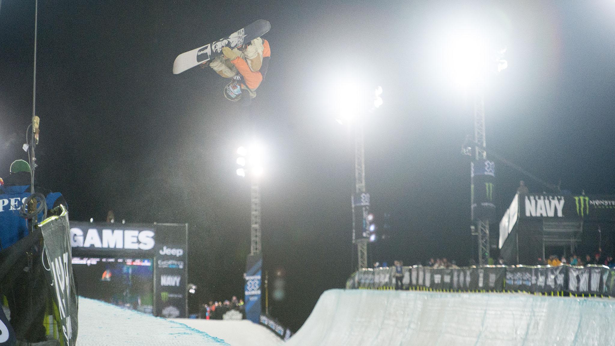 Men's Snowboard SuperPipe: Danny Davis