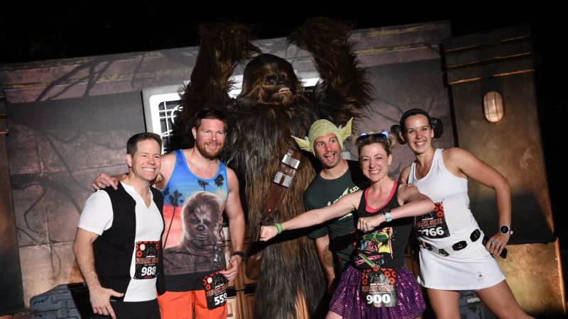 This Star Wars crew was ready to run together to find the force in the Dark Side Half Marathon.
