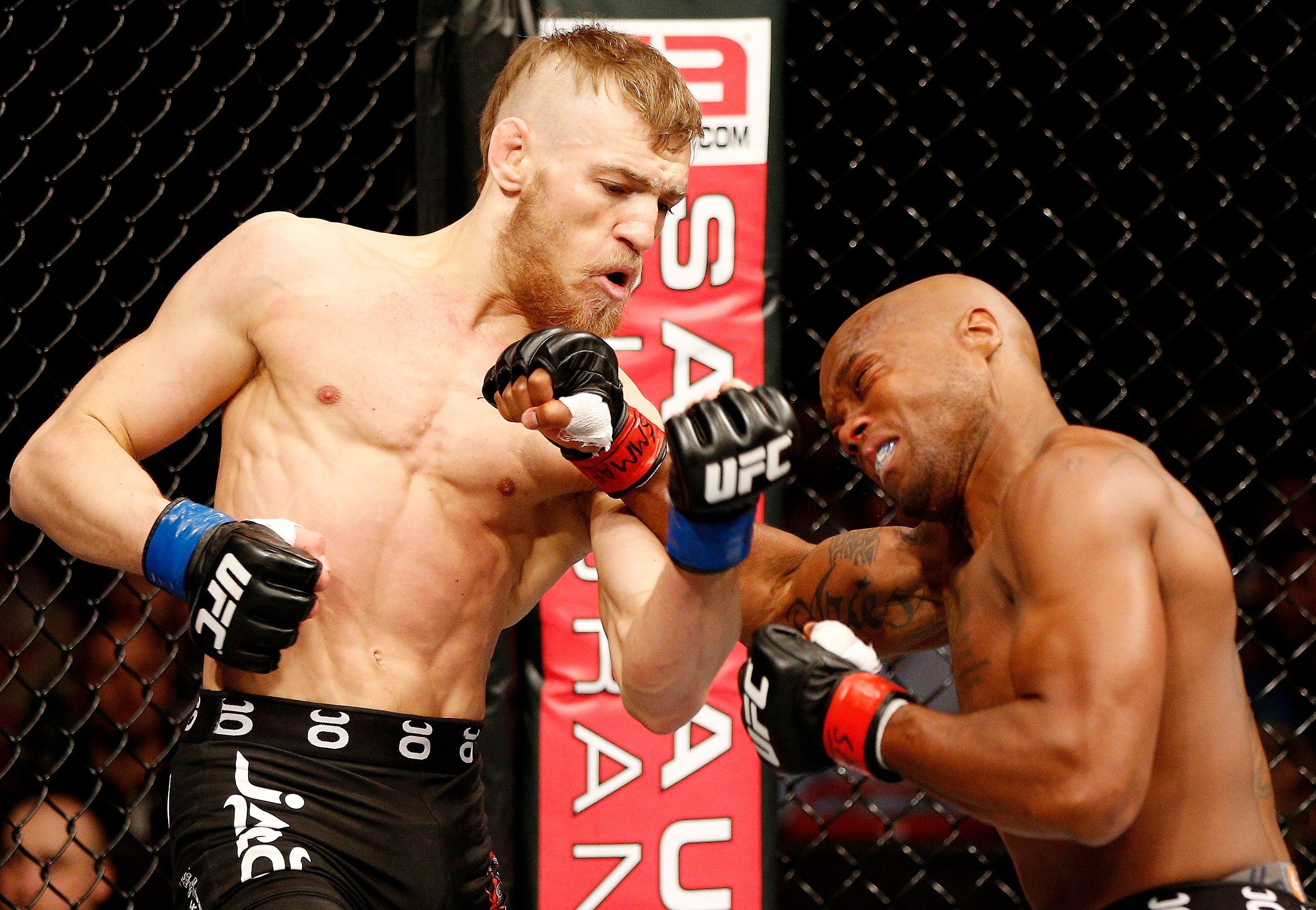McGregor's first UFC win