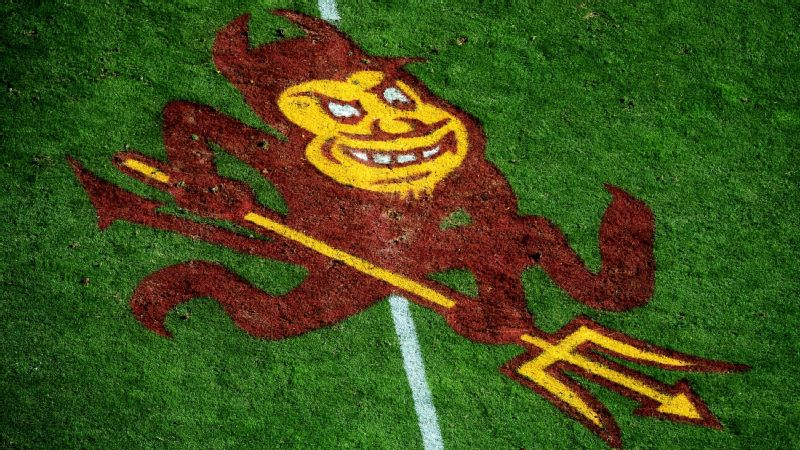Arizona State field logo