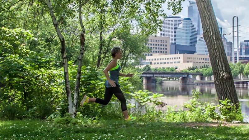 Alisha Perkins running