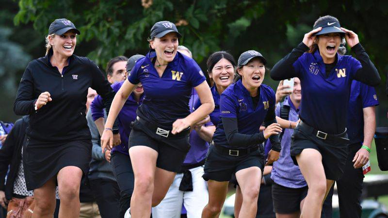 Washington Huskies golf team