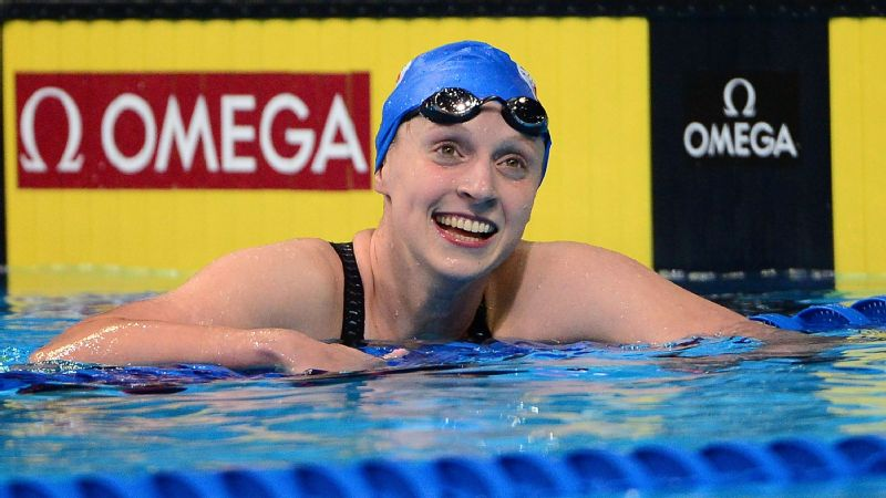 I think we're going to really represent the U.S. well in that event, Katie Ledecky said after winning the 400-meter freestyle final in convincing fashion Monday night at the U.S. Olympic swimming trials.