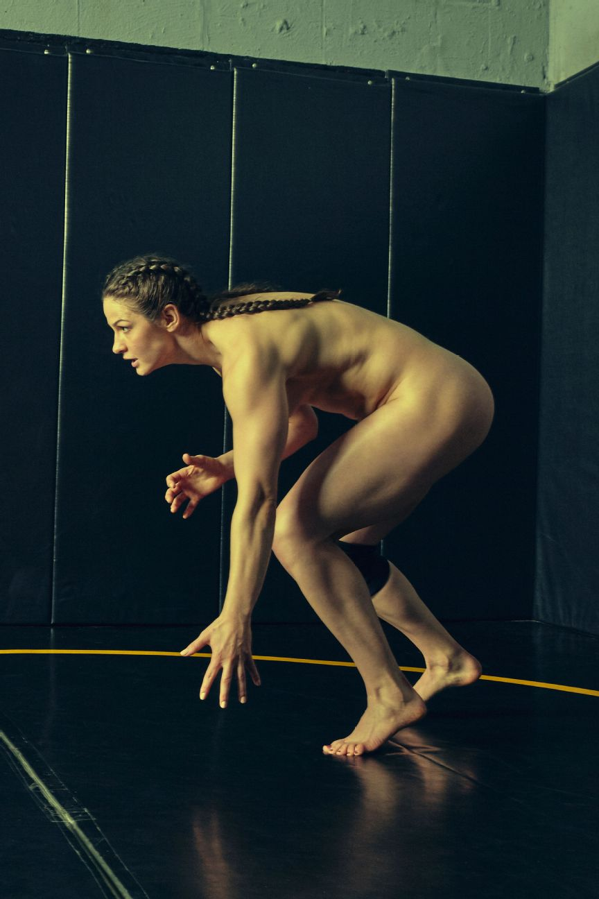 Adeline Gray, wrestling, olympics, featured in the Body Issue 2016: Fully Exposed on ESPN the Magazine