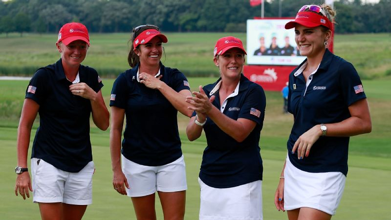 Stacy Lewis, Gerina Piller, Cristie Kerr and Lexi Thompson