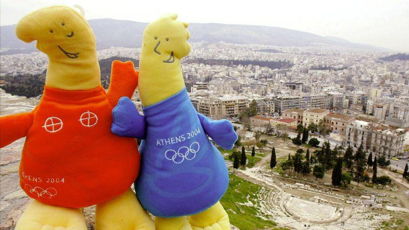 2004 Olympic Mascots