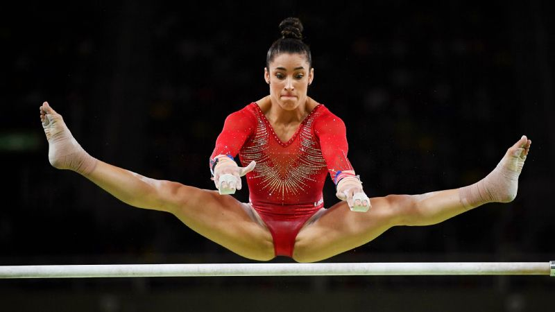 Olympics 2016 Aly Raisman Finds Her All Around Silver