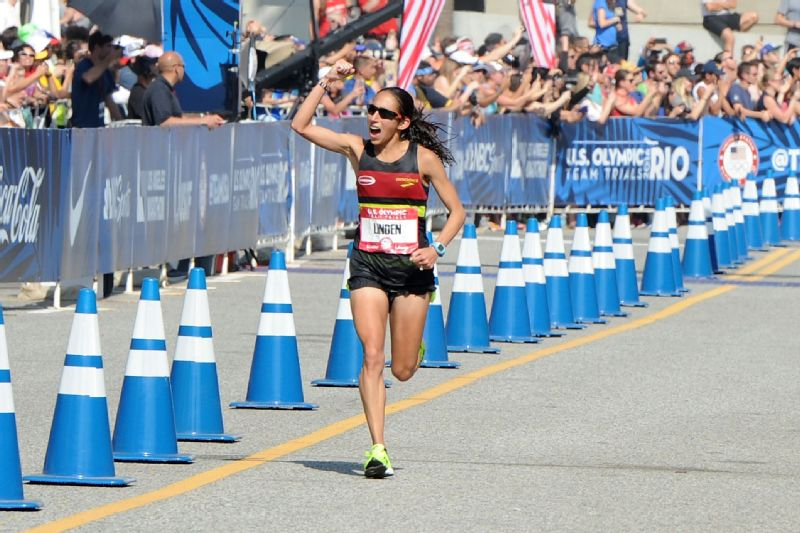 When Desiree Linden ran her first Boston Marathon in 2007, she hadn't made up her mind if she was going to continue with the sport.