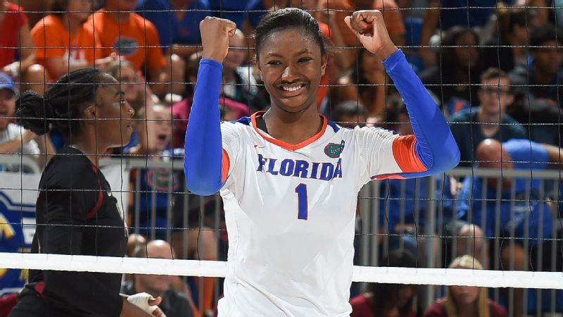 Rhamat Alhassan, middle blocker, Florida
