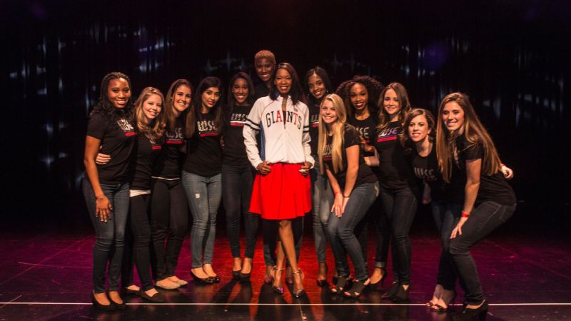 Van Adams at the WISE Women of Inspiration event at the PlayStation Theater in New York City last December.