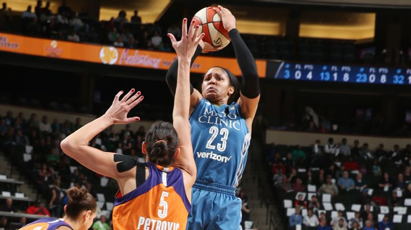 Maya Moore (Game 1 vs. Mercury)
