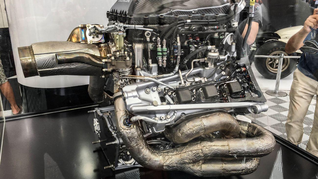 Honda RA616H power unit