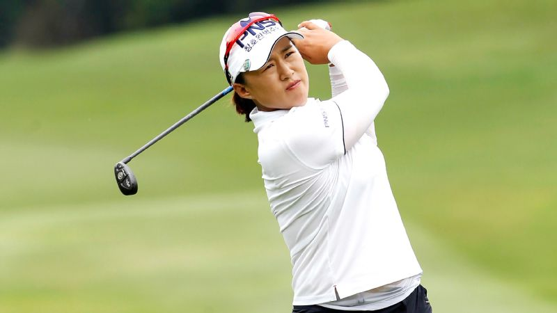 Amy Yang almost matched her course record at TPC Kuala Lumpur, finishing with an 8-under 63 that gave her the first-round lead in the Sime Darby LPGA Malaysia.