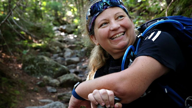Stacey Kozel, Appalachian Trail, Mount Katahdin