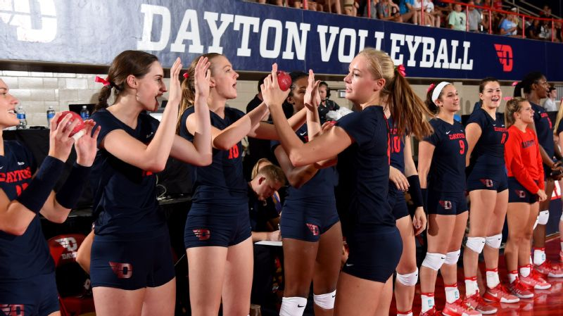 Dayton volleyball