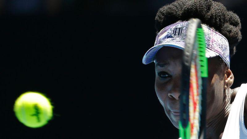 Venus Williams round of 16