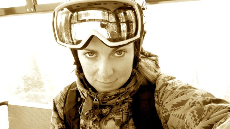 Steph Jagger in Jackson Hole, Wyoming.