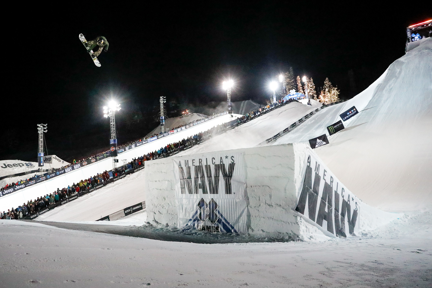 Women hit the Big Air stage for the first time at an X Games in Aspen on Thursday night. The firsts kept rolling when Hailey Langland stomped a Cab double cork 1080, the first double cork landed off a jump by a woman in competition at an X Games.