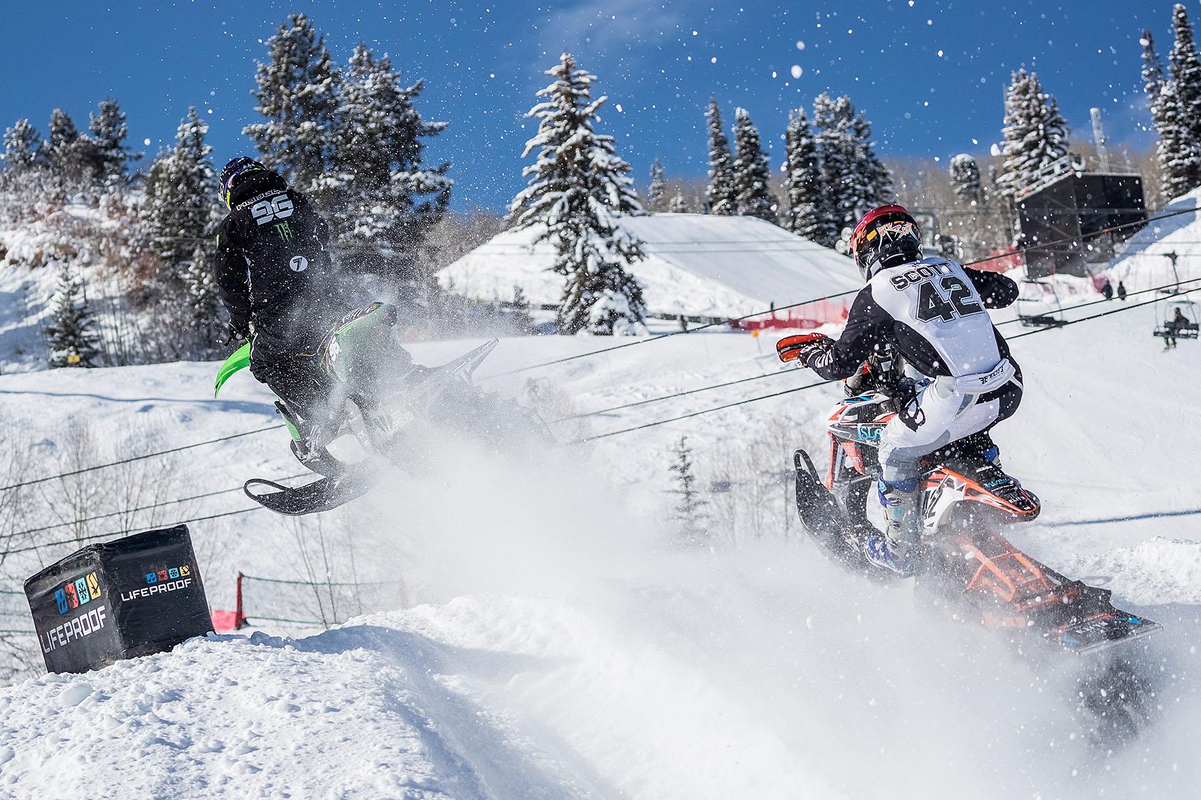Axell Hodges, Jake Scott, Snow BikeCross