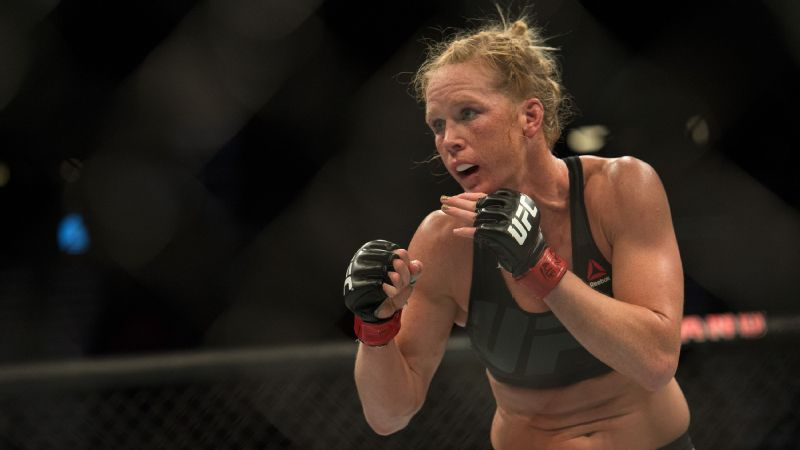 Holly Holm will fight in the inaugural women's featherweight championship against Germaine de Randamie at UFC 208 on Saturday.