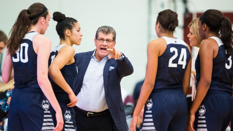Alysa Auriemma says that growing up around female athletes coached by her dad, Geno Auriemma, helped her become a feminist.