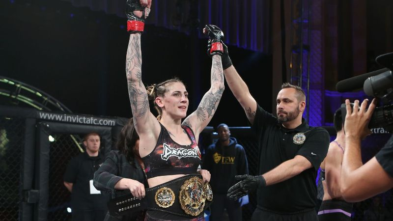 Megan Anderson, who has won four consecutive fights, will take on Cris 'Cyborg' Justino at UFC 214 for the featherweight belt.