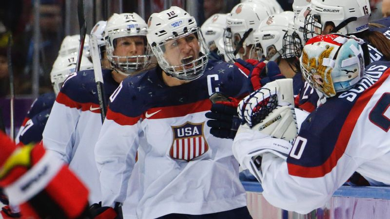 US women's hockey team threatens to not play in world championships
