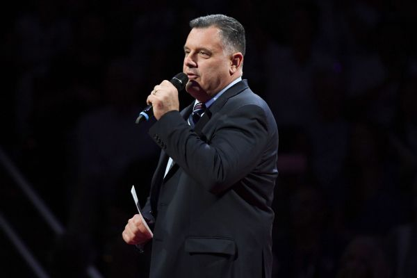 Steve Penny, who has served as president of USA Gymnastics since 2005, said Thursday he resigned to support the best interests of the organizations amid accusations that it was slow to react to sex abuse allegations.
