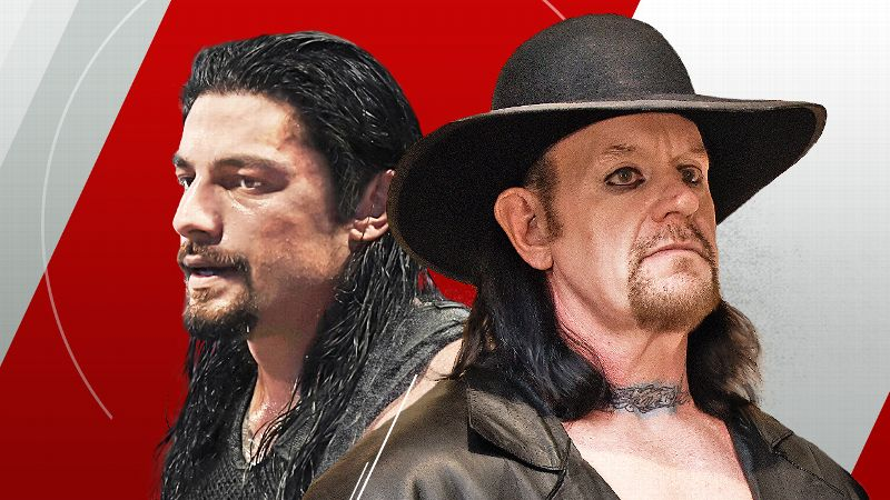Roman Reigns versus The Undertaker