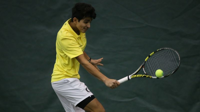 Sangwan, now a college sophomore, is the No. 1 singles player at Oregon.