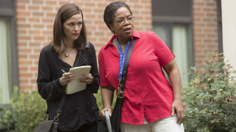 Rose Byrne, left, and Oprah Winfrey are in The Immortal Life of Henrietta Lacks.