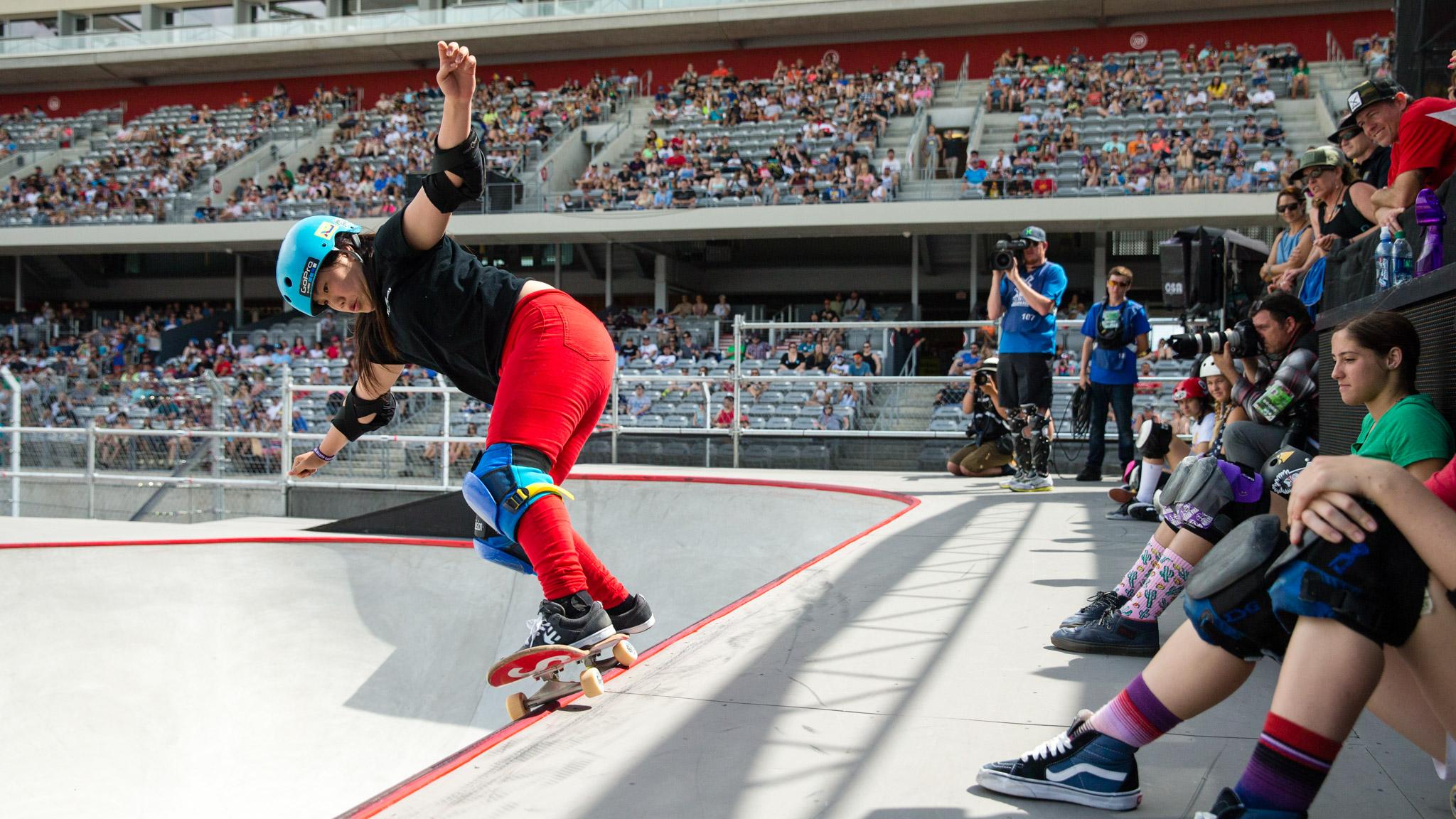 Women's Skateboard Park: Kisa Nakamura