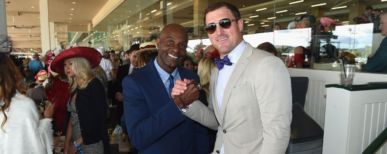 Jason Witten and Jerry Rice