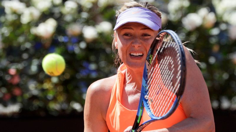 Maria Sharapova was denied a wild card into both the main draw and qualifying of the French Open.