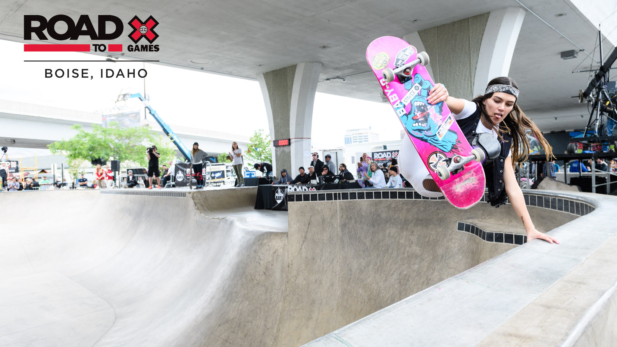 Brazil's Yndiara Asp is on the invite list for the Road To X Games Boise Park Qualifier.