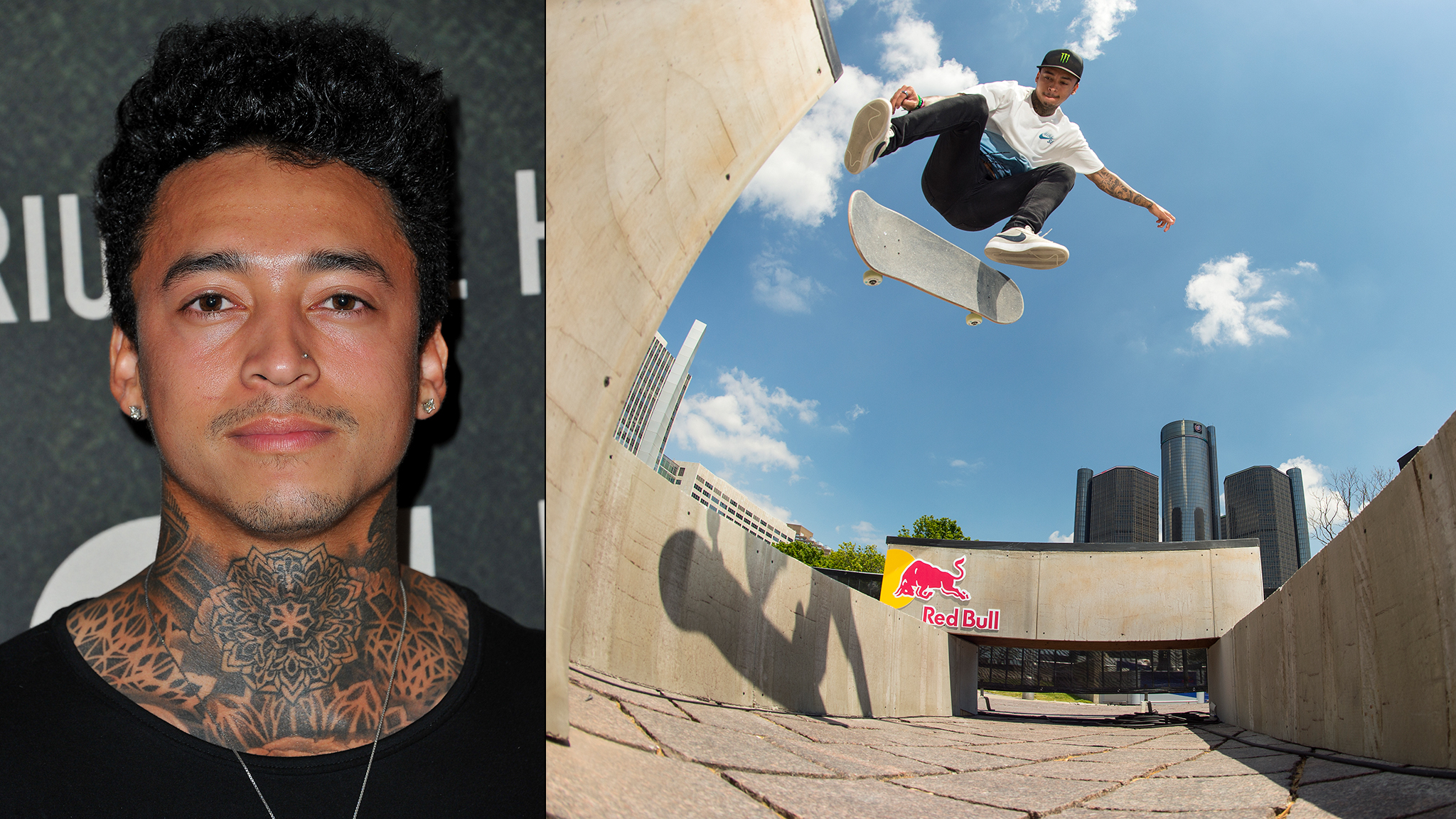 Nyjah Huston has 7 gold, 3 silver and 1 bronze from his 14 X Games Skateboard Street appearances. He also owns X Games Real Street gold for this banger-filled 2012 video part.