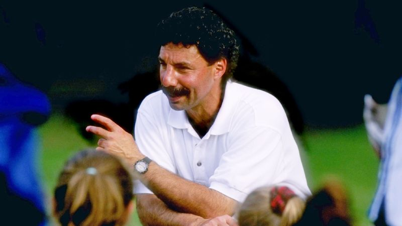 US coach Tony DiCicco dies at 68; won 1999 Women's World Cup