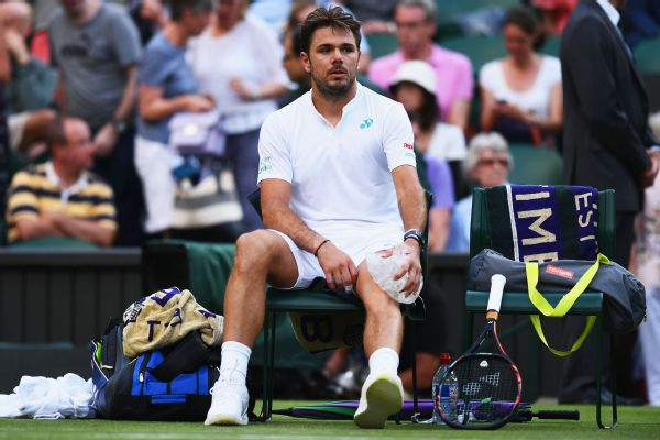 Stan Wawrinka has won each of the other three major tournaments but has never been past the quarterfinals at Wimbledon.