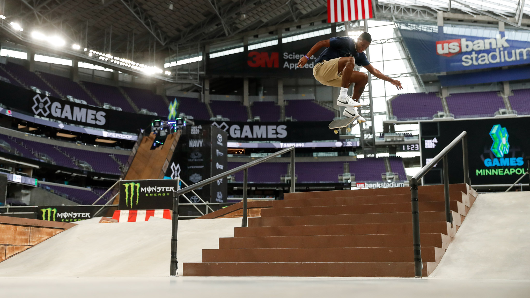 X Games Minneapolis Skateboard Results
