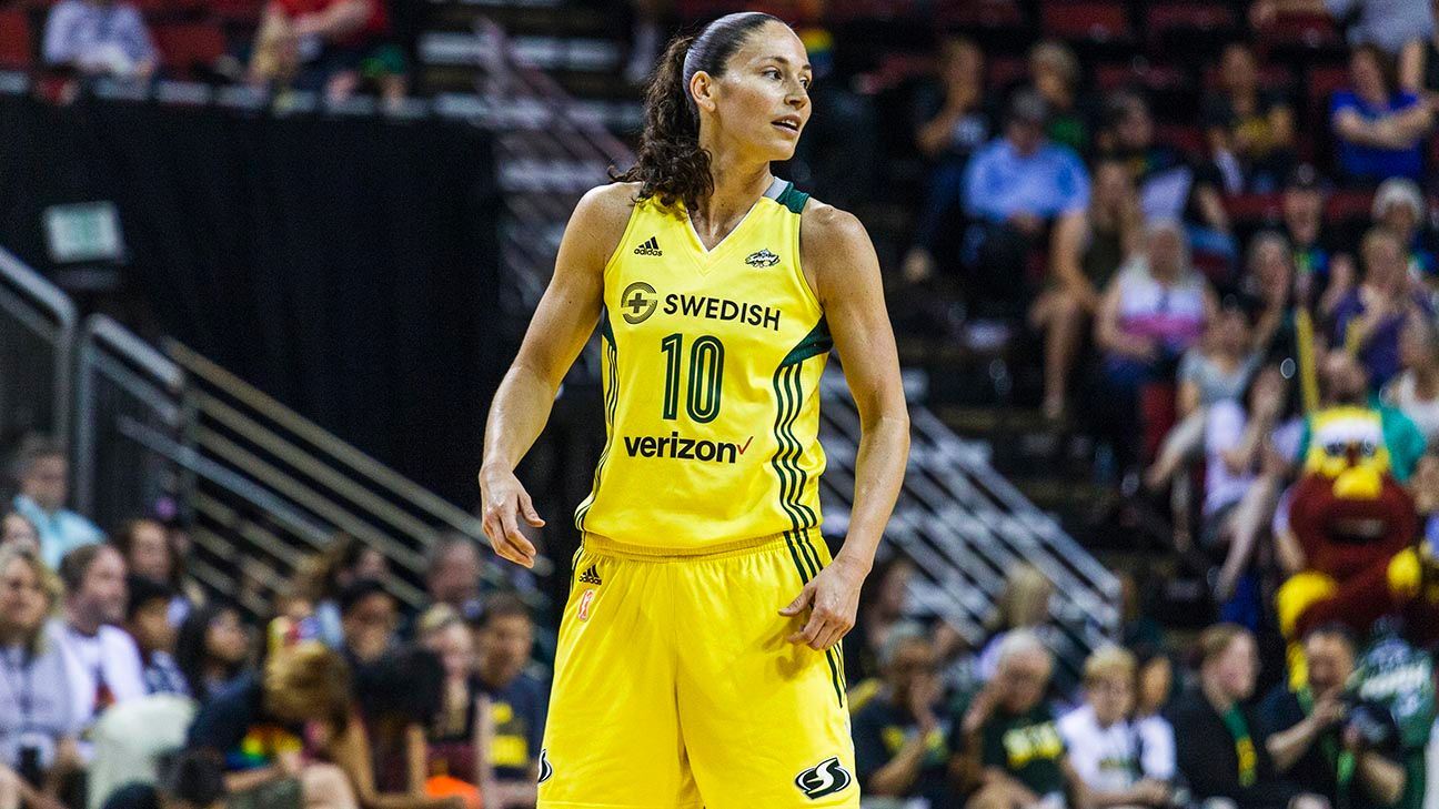 Sue Bird: I'm gay and dating Megan Rapinoe