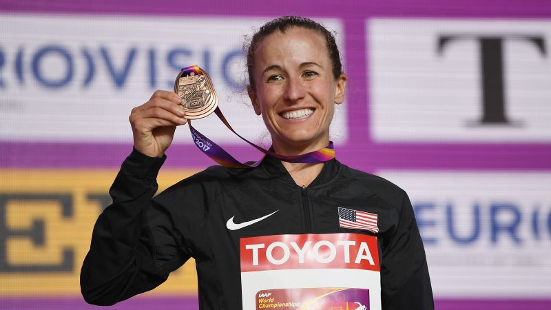 Amy Cragg became the first U.S. woman since 1983 to win a marathon medal at the World Championships, narrowly missing out on silver in London.