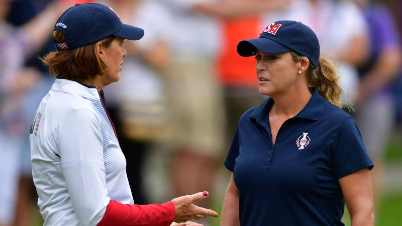 Team USA captain Juli Inkster decided to pair Cristie Kerr (right) with Lexi Thompson after they went 2-0-0 in their foursomes matches two years ago.