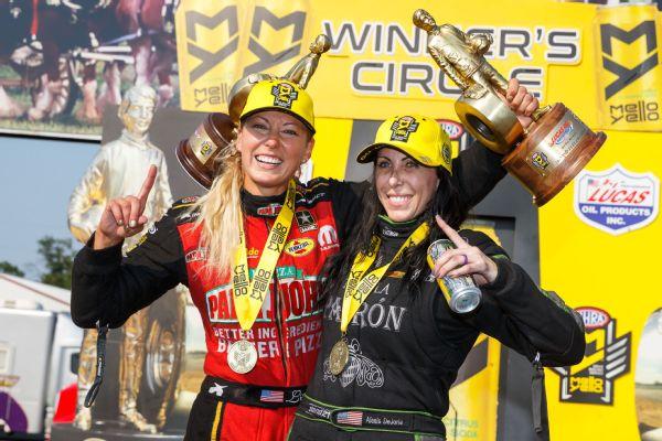 Leah Pritchett and Alexis DeJoria